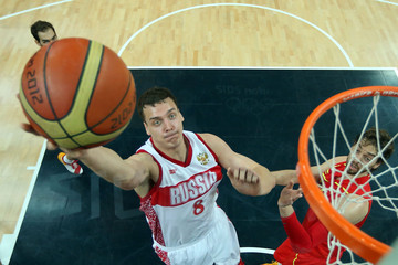 Alexander Kaun Olympics Day 8 - Basketball