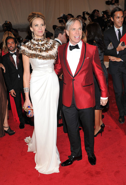 "Dee Hilfiger and designer Tommy Hilfiger attend the ""Alexander McQueen: Savage Beauty"" Costume Institute Gala at The Metropolitan Museum of Art on May 2, 2011 in New York City."