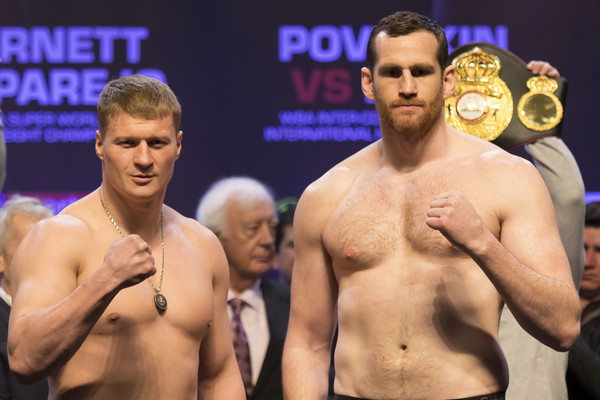 Anthony Joshua Vs. Joseph Parker Weigh In