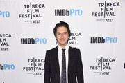 Nat Wolff attends as Alexander Skarsgård receives the IMDb STARmeter Award at The 2019 Tribeca Film Festival After Party for The Kill Team hosted by IMDbPro at The Ainsworth - FiDi on April 27, 2019 in New York City.
