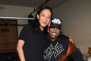 Backstage at Alexander Wang X H&M Launch
