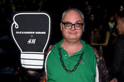 Mickey Boardman of PAPER Magazine attends the Alexander Wang X H&M Launch on October 16, 2014 in New York City.