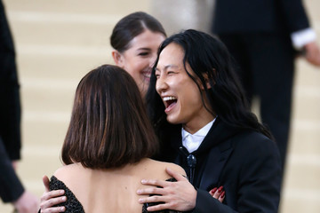 Alexander Wang 'Rei Kawakubo/Comme des Garcons: Art of the In-Between' Costume Institute Gala - Outside Arrivals