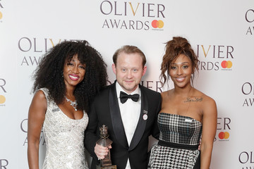 Alexandra Burke The Olivier Awards With Mastercard - Press Room