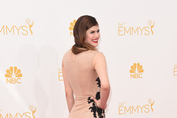 Alexandra Daddario Arrivals at the 66th Annual Primetime Emmy Awards — Part 2