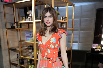 Alexandra Daddario Marie Claire Celebrates 'Fresh Faces' with an Event Sponsored by Maybelline - Inside