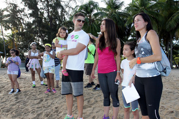 Alexandra Roselyn Sanchez Triathlon for a Smile - Tri Kids Triathlon