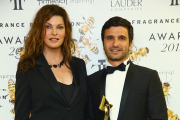 Alexandre Choueiri Backstage at the 2015 Fragrance Foundation Awards