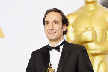 Alexandre Desplat 87th Annual Academy Awards Press Room