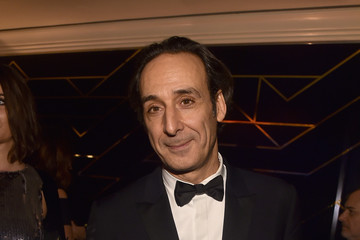 Alexandre Desplat Amazon Studios Golden Globes Celebration - Inside