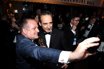 Alexandre Desplat 90th Annual Academy Awards - Governors Ball