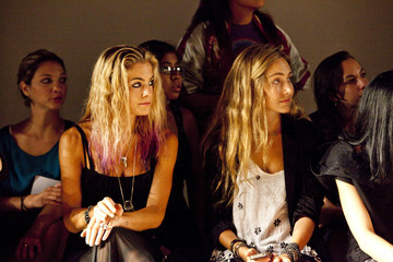 Willow Lindley Alexandre Herchcovitch - Front Row - Spring 2012 Mercedes-Benz Fashion Week