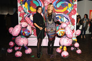 Kelly Framel(L) and Mary Alice Stephenson attend the Alexis Bittar NYFW & 25th Anniversary With Lucite presentation during Mercedes-Benz Fashion Week Fall 2015 on February 18, 2015 in New York City.