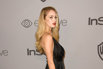 Alexis Knapp Warner Bros. Pictures And InStyle Host 19th Annual Post-Golden Globes Party - Arrivals