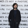 Alexis Mabille Ruinart & David Shrigley - Unconventional Bubbles Exhibition : Photocall At Opera Bastille