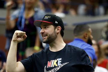 Alexis Ohanian 2018 US Open - Day 13