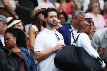 Alexis Ohanian Day Ten: The Championships - Wimbledon 2018