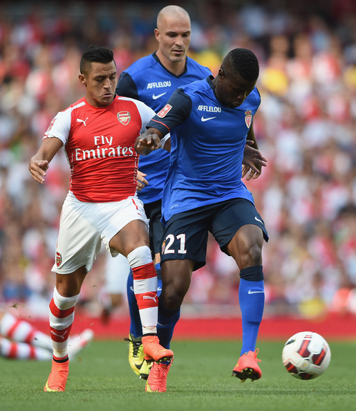 Alexis Sanchez - Arsenal v AS Monaco - Emirates Cup