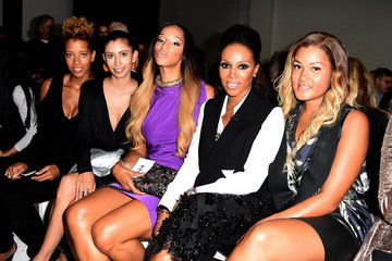 Alexis Stoudemire Vera Wang Collection - Front Row - Mercedes-Benz Fashion Week Spring 2015