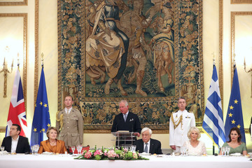Alexis Tsipras Prince Of Wales And Duchess Of Cornwall Visit France And Greece