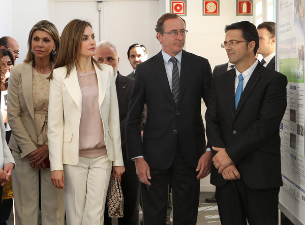 Queen Letizia of Spain Attends the 2nd Congress of Uncommon Diseases