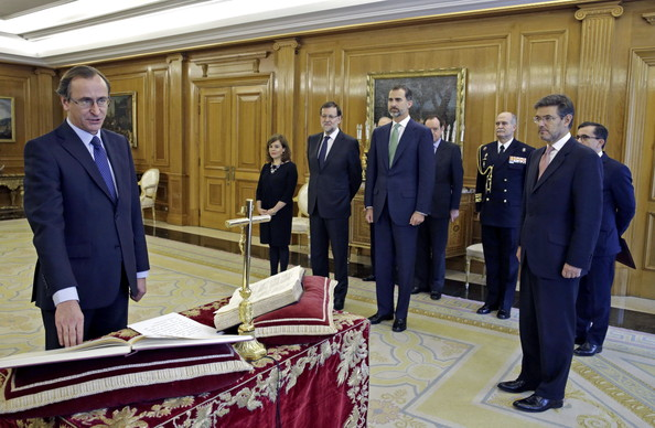 Alonso Alfonso Sworn In As Minister of Health
