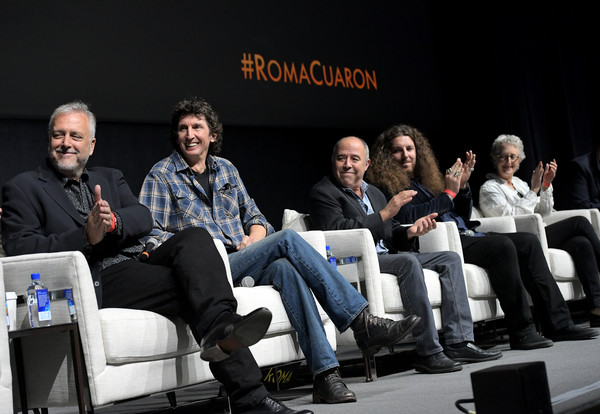 Netflix 'Roma' Experience Day [roma experience day,social group,event,convention,youth,community,design,team,academic conference,technology,conversation,skip lievsay,craig henighan,adam gough,lynn fainchtein,jose antonio garcia,roma experience,los angeles,california,netflix]