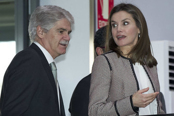 Alfonso Dastis Queen Letizia Of Spain Attends the Rare Diseases Day