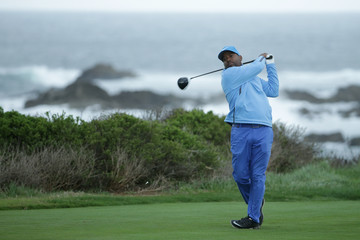 Alfonso Ribeiro AT&T Pebble Beach Pro-Am - Round One