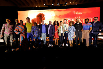 Alfre Woodard Chiwetel Ejiofor The Global Press Conference For Disney's 'The Lion King'