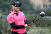 Cricketer Mark Boucher of South Africa during a practice round of the Alfred Dunhill Links Championship on The Old Course, at St Andrews on September 24, 2013 in St Andrews, Scotland.