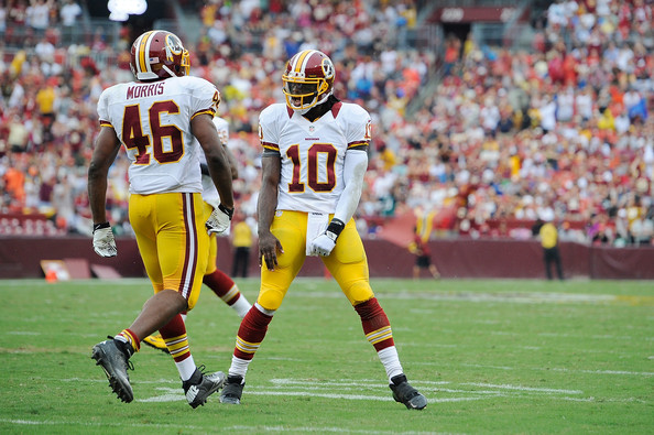 Alfred Morris, Robert Griffin III vs. Indianapolis Colts