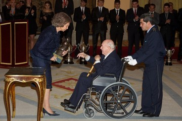 Alfredo di Stefano Spanish Royals attend National Sports Awards