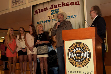 Ali Jackson Alan Jackson Exhibit Opening Reception At Country Music Hall Of Fame And Museum