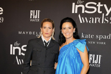 Ali Krieger Ashlyn Harris FIJI Water At The Fifth Annual InStyle Awards