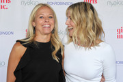 Shannon Rotenberg and Ali Larter attend Ali Larter & Shannon Rotenberg Host Nyakio Launch Event At RONROBINSON at Fred Segal Melrose on May 22, 2018 in Los Angeles, California.
