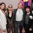 Ali Tamposi Pre-GRAMMY Gala And GRAMMY Salute To Industry Icons Honoring Clarence Avant – Inside