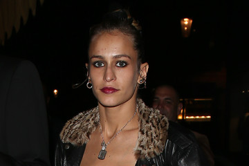 Alice Dellal Sightings at Daphne's Restaurant During London Fashion Week