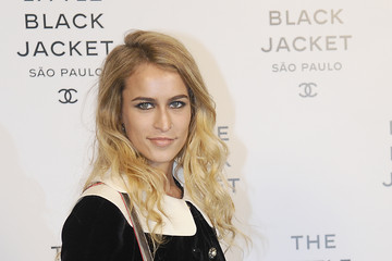Alice Dellal Chanel Little Black Jacket Event
