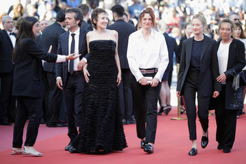 Alice Rohrwacher Closing Ceremony And 'The Man Who Killed Don Quixote' Red Carpet Arrivals - The 71st Annual Cannes Film Festival