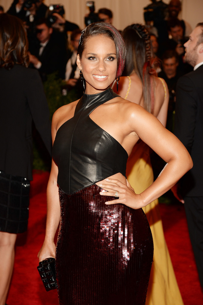 Alicia Keys - Red Carpet Arrivals at the Met Gala