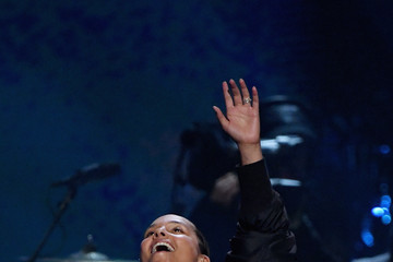 Alicia Keys 32nd Annual Rock & Roll Hall Of Fame Induction Ceremony - Show