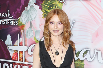 Alicia Witt Hallmark Channel and Hallmark Movies and Mysteries Winter 2018 TCA Press Tour - Arrivals