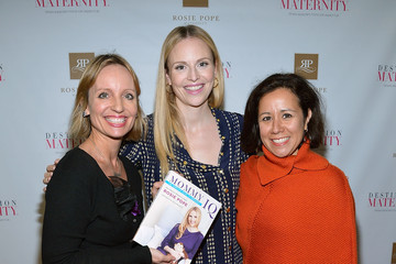 Alicia Ybarbo Rosie Pope Launches Her First Book At Destination Maternity