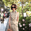 Alina Cho SP22 Michael Kors Collection Runway Show - Front Row & Backstage
