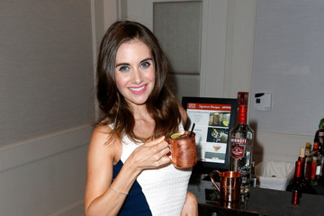 Alison brie smirnoff vodka commercial april 2014 1