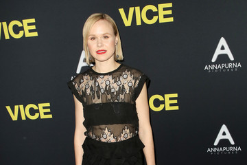 Alison Pill Annapurna Pictures, Gary Sanchez Productions And Plan B Entertainment's World Premiere Of 'Vice' - Arrivals
