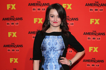 """Alison Wright FX's """"The Americans"""" Season One New York Premiere - Inside Arrivals"""