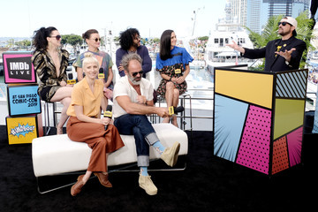 Alison Wright Daveed Diggs #IMDboat At San Diego Comic-Con 2019: Day Three
