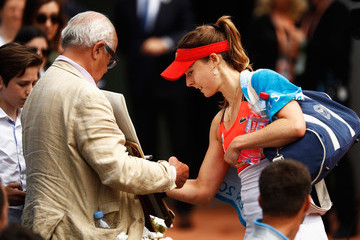 Alize Cornet 2017 French Open - Day Seven